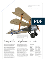 WW1 Sopwith Triplane N5912