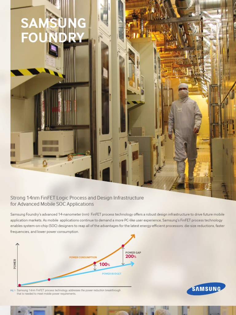 Samsung Foundry 14nm | System On A Chip | Integrated Circuit