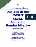 The Teaching Qasides of Shaykh Amodu Bamba