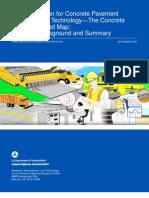 Concrete Pavement Roadmap-Vol 1