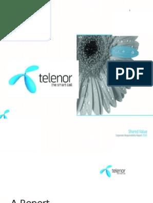 Telenor Company Analysis | Strategic Management | Pricing