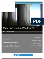 Materials used in Windows's structures