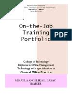 Portfolio Practicum I Mikaela Lasac
