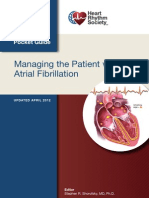 Managing the Patient With Atrial Fibrillation Pocket Guide