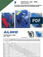 150-Ventilatoare ATDC- Pentru Transport Material Usor