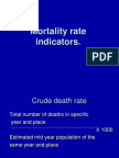 Mortality Rates