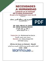 LAS NECESIDADES DE LA HUMANIDAD(Español)(la paz y las bendiciones sean con él)