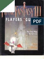 Final Fantasy III - Players Guide