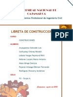 Libreta de Construcciones