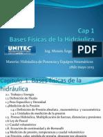Cap 1 Bases Físicas de la Hidráulica