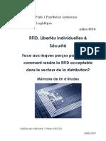 Julien Riva MII Logistique 08-09 Mémoire RFID