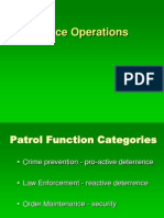 Lecture 6 Police Operations