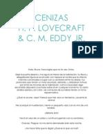 Cenizas h. p. Lovecraft