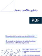 14 Metabolismo Do Glicognio