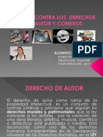 DELITOS CONTRA LOS  DERECHOS DE AUTOR ACTUALIZADO.pptx