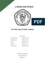 Etika Dalam Praktik Auditing