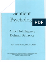 Sentient Psychology