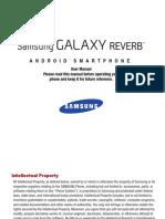 Virgin Mobile M950 Galaxy Reverb English User Manual LH6 F4