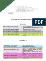 Structura anului 2012-2013 USH