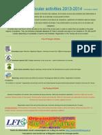 Activités extrascolaires 2013-2014