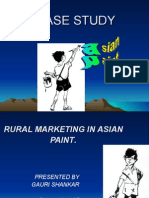 Asian Paint CASE STUDY