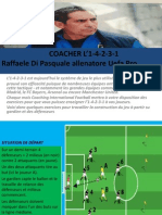 Coacher l'1-4-2-3-1 Avec La Methodologie Operationnelle