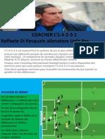 Coacher l'1-4-2-3-1 Avec La Methodologie Operationnelle