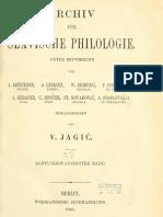 Archiv für slavische Philologie 28