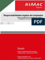Infracciones y Sanciones en SST-Responsabilidad Legal SUNAFIL 2013