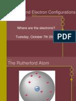 Orbitals and Elect. Conf.