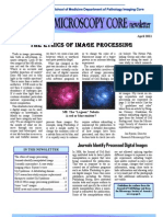 Spring 11 Newsletter Department of Pathology Microscopy Core & Histology