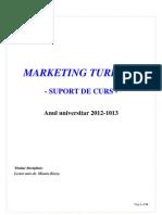 Suport Curs Mkt Turistic 2012 2013