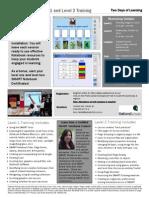 smart notebooktraining flyer oakland schools