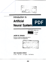 Introduction to Artificial Neural Networks-Zurada