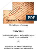 Community Development Course