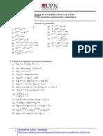 04-Ecuaciones Expo y Logarit