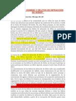 DELITOS DE DOMINIO Y DELITOS DE INFRACCIÓN DE DEBER