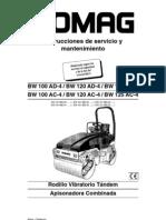 Mantenimiento BW120AD-4