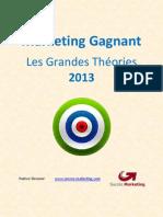 Marketing Gagnant Et Grandes Theories 2013 007