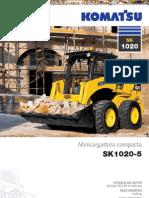 Catalogo Minicargadora Compacta Sk1020 5 Komatsu