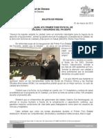 01/03/12 Germán Tenorio Vasconcelos primer Foro Estatal de Calidad y Seguridad Del Paciente