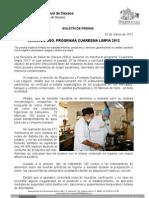 2/03/12 Germán Tenorio Vasconcelos Arrancó SSO Programa cuaresma limpia 2012