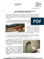 11/03/12 Germán Tenorio Vasconcelos CELEBRA HOSPITAL DE TAMAZULAPAM 12 AÑOS DE SERVICIO A LA COMUNIDAD