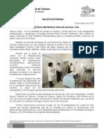 20/03/12 Germán Tenorio Vasconcelos RED OBSTÉTRICA METROPOLITANA EN OAXACA, SSO