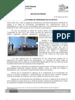 22/03/12 Germán Tenorio Vasconcelos INICIÓ SSO ACCIONES DE TEMPORADA DE CALOR 2012