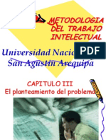 CAPITULO III Metodologia Del Trabajo Intelectual