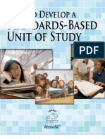 How to Develop a Standards Based Unit of Study