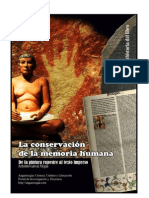 La conservación de la memoria humana. 1. La prehistoria del libro