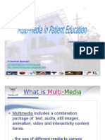 Patient Education Needs, Multimedia and Information rights