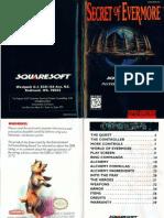 Secret of Evermore - 1995 - Square Co., Ltd.
